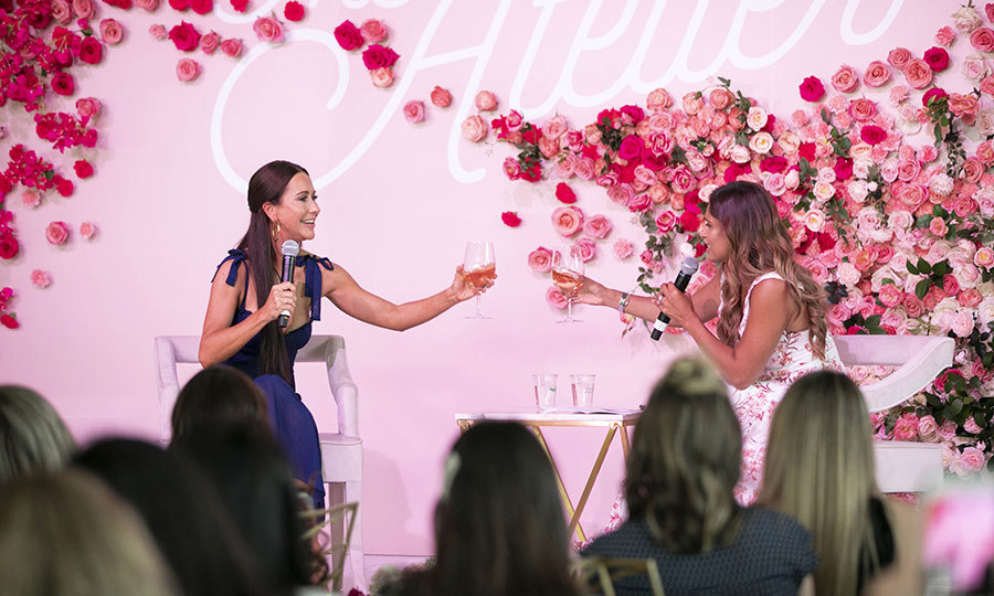 Sangita joined Jessica on stage for a candid conversation over a glass of rosé. 
