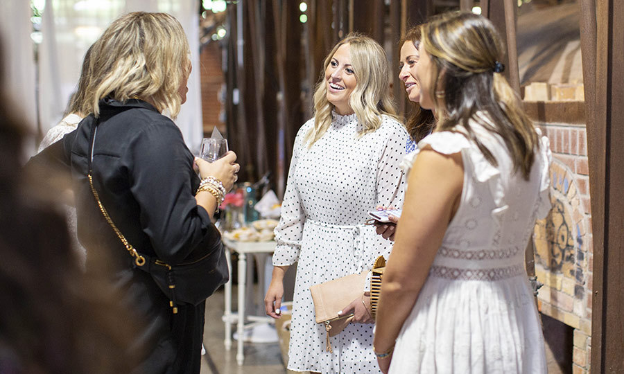 In addition to energy breaks held throughout the day, participants were also able to take advantage of a special happy hour, coffee bar, headshot studio, pop-up vineyard and beauty boutique. It looked like a really wonderful, enriching day! 