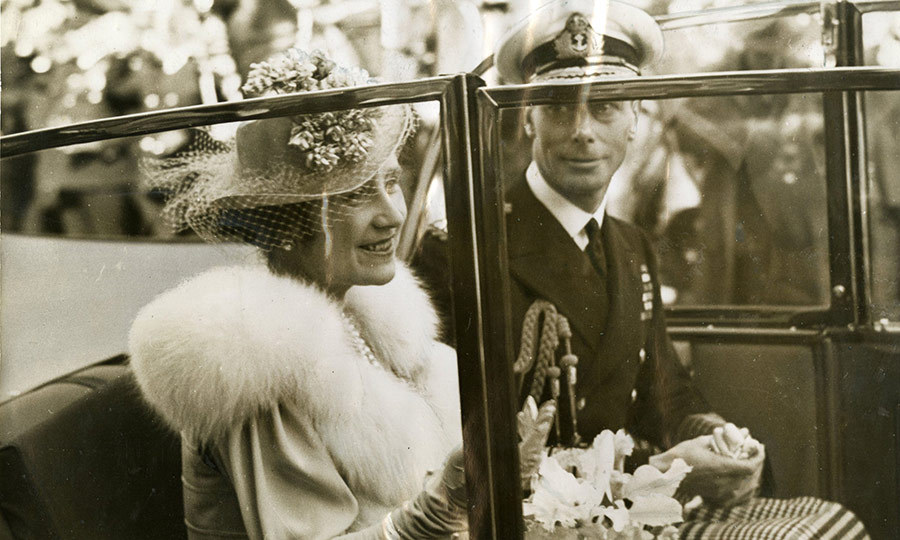 <h2>Queen Elizabeth and King George VI</h2>