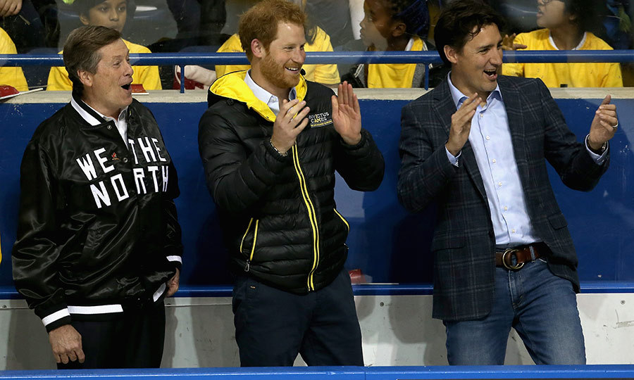 "Prince Harry looked so pleased at the <strong><a href=""/tags/0/invictus-games"">Invictus Games</a></strong> in Toronto in 2017. He attended a sledge hockey game with the city's mayor, <strong>John Tory</strong>, and Prime Minister <strong><a href=""/tags/0/justin-trudeau"">Justin Trudeau</a></strong>, who looked like they were really in awe of the play!