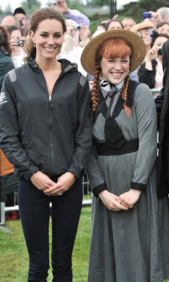 Luckily, the sting of the defeat was lessened when the Duchess, who is an Anne of Green Gables fan, met actress <strong>Tess Benger</strong>, who played the beloved character in a local stage production of the iconic tale by author <strong>Lucy Maud Montgomery</strong>.
