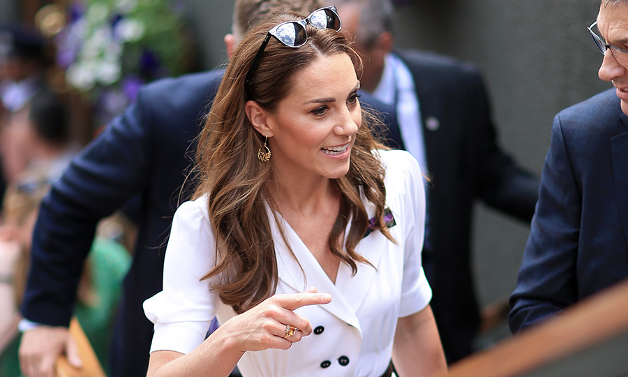"Members of <a href=""https://ca.hellomagazine.com/tags/0/british-royals""><strong>the Royal Family</strong></a> are always spotted in the stands at <a href=""https://ca.hellomagazine.com/tags/0/wimbledon""><strong>Wimbledon</strong></a>! And this year, the <a href=""https://ca.hellomagazine.com/tags/0/kate-middleton""><strong>Duchess of Cambridge</strong></a> kicked it off solo.