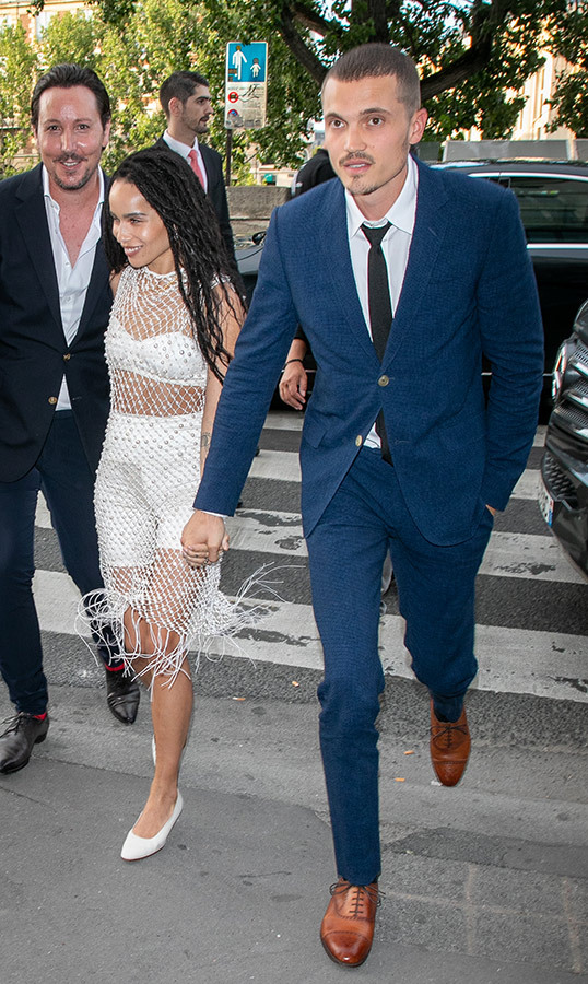 <h2>Zoe Kravitz and Karl Glusman</h2>