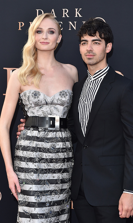 <h2>Sophie Turner and Joe Jonas</h2>