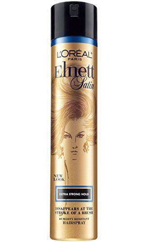 <h2>L'Oréal Paris Elnett Satin Hairspray Extra Strong Hold</h2>