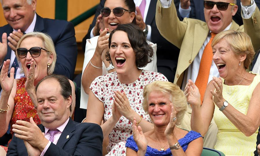 "<strong><i><a href=""/tags/0/killing-eve"">Killing Eve</a></strong> showrunner and actress <strong>Phoebe Waller-Bridge</strong> was on hand and sat in the royal box at <Strong><a href=""/tags/0/wimbledon"">Wimbledon</a></strong> on July 5. She looked like she was having an incredible time! 