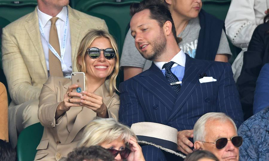 "<strong><a href=""/tags/0/sienna-miller"">Sienna Miller</a></strong> was keen to take selfies from the Royal Box on July 8! 