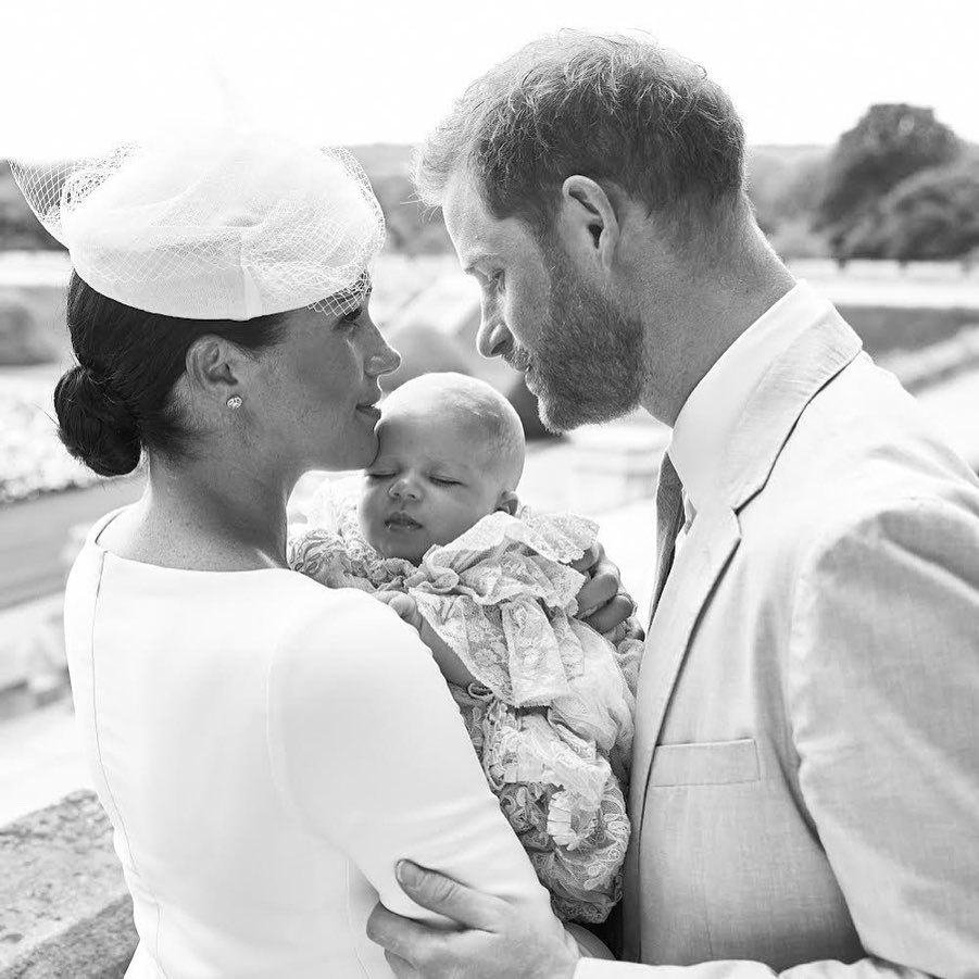 "Just after his christening, new parents <a href=""/tags/0/prince-harry""><strong>Prince Harry</strong></a> and <a href=""/tags/0/meghan-markle""><strong>Duchess Meghan</strong></a> shared a heartwarming black-and-white photo with <a href=""/tags/0/archie-harrison""><strong>Archie Harrison</strong></a>. 