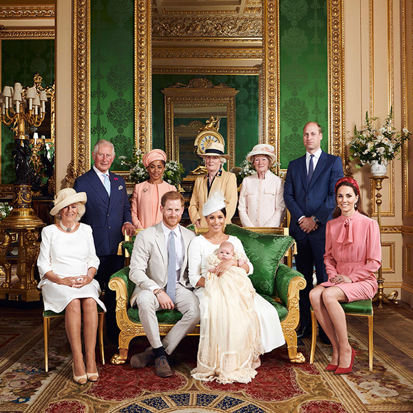 "Members of the British monarchy stepped out on July 6 to celebrate the christening of <a href=""/tags/0/prince-harry-and-meghan""><strong>Prince Harry and Meghan</strong></a>'s baby boy, <a href=""/tags/0/archie-harrison""><strong>Archie Harrison</strong></a>.