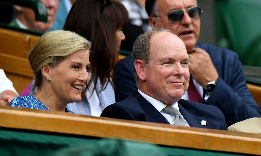 "<strong><a href=""/tags/0/countess-of-wessex"">Sophie, Countess of Wessex</a></strong> and <strong><a href=""/tags/0/prince-albert"">Prince Albert II of Monaco</a></strong> looked like they were really enjoying each other's company as they took in a game at Centre Court!