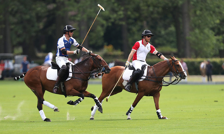 "Meghan, Kate, the Cambridge kids and Archie were on hand to see <strong><a href=""/tags/0/prince-william"">Prince William</a></strong> and <strong><a href=""/tags/0/prince-harry"">Prince Harry</a></strong> compete in the King Power Royal Charity Polo Day for the Khun Vichai Sriaddhanaprabha Memorial Polo Trophy. It was being held in honour of Vichai Srivaddhanaprabha, the late chairperson of the Leicester City soccer club. He died in a helicopter crash last year and was an avid polo supporter.