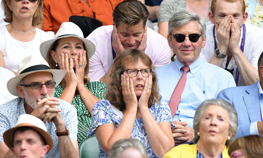 Carole couldn't believe her eyes while watching a play that happened at Centre Court!