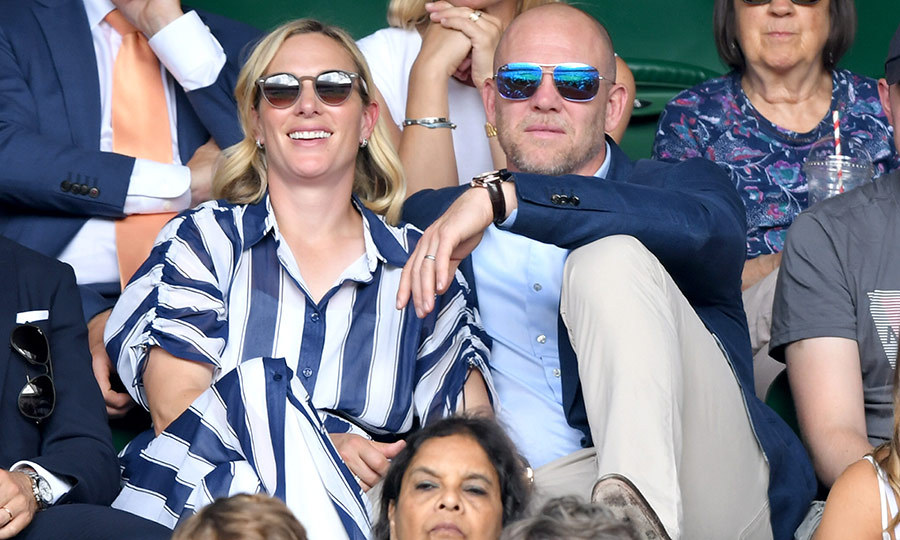 "<strong><a href=""/tags/0/zara-tindall"">Zara</a></strong> and <strong><a href=""/tags/0/mike-tindall"">Mike Tindall</a></strong> looked cool and casual at <strong><a href=""/tags/0/wimbledon"">Wimbledon</a></strong>. They opted not to sit in the Royal Box, and looked like they were enjoying the match and each other's company as Mike had his arm around his wife as they took in the sights.