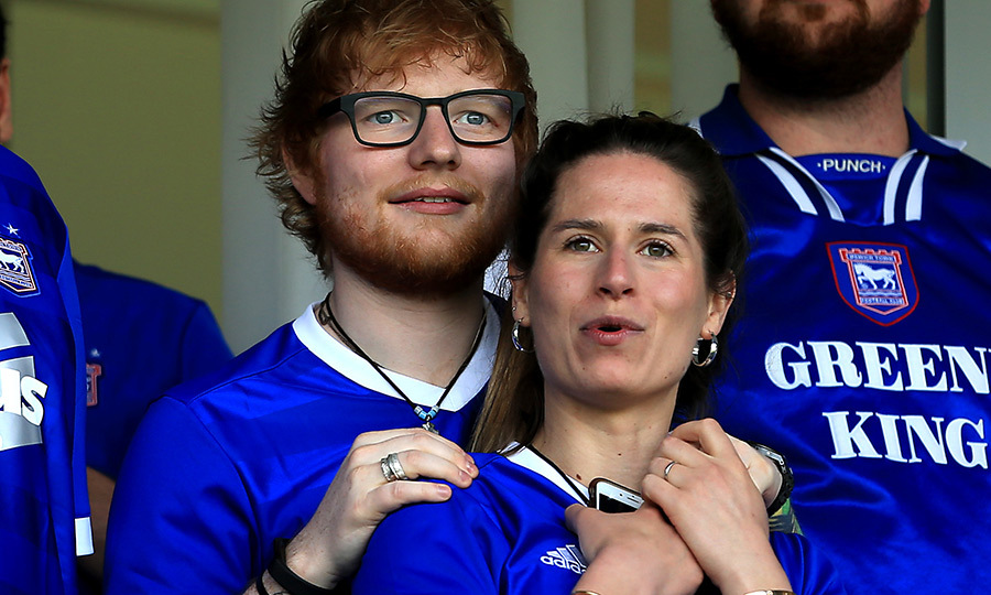<h2>Ed Sheeran and Cherry Seaborn</h2>