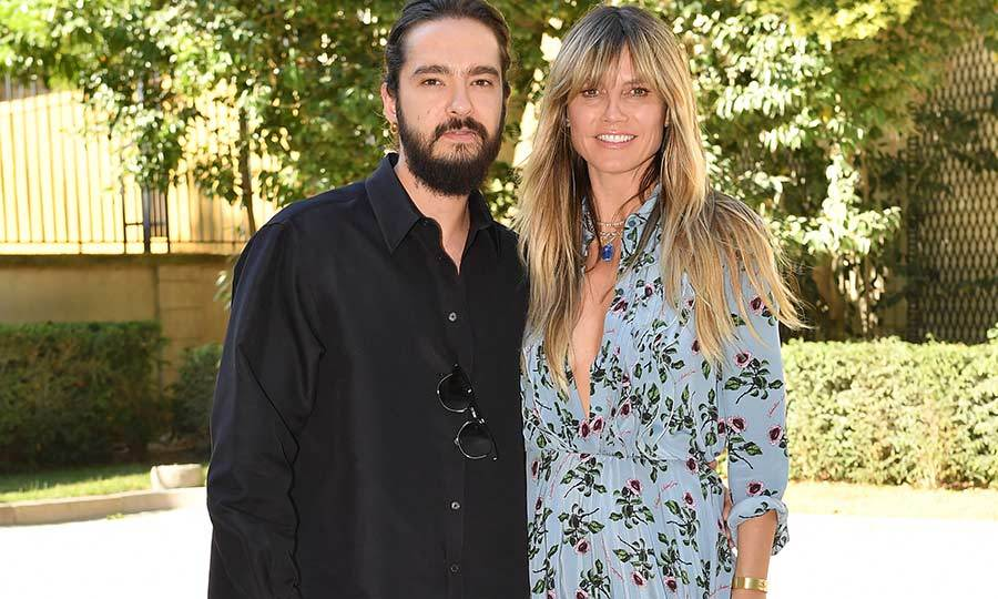 <h2>Tom Kaulitz and Heidi Klum</h2>
