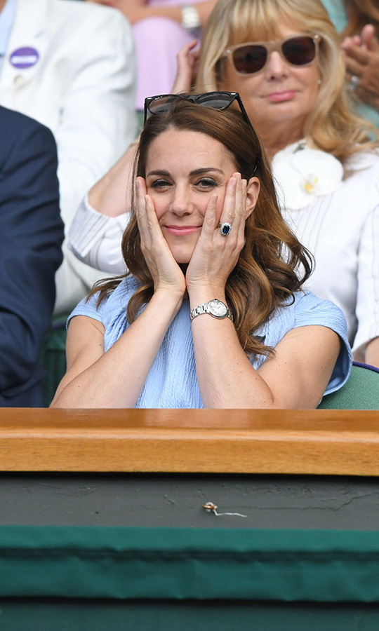 It's very rare for a tennis match to go to five sets! Kate couldn't believe it, either.