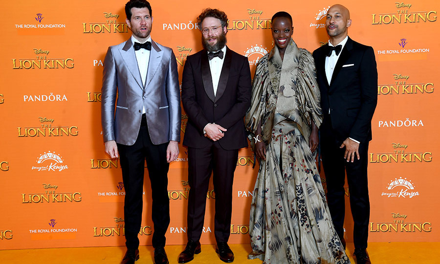 "<Strong>Billy Eichner</strong>, <strong><a href=""/tags/0/seth-rogen"">Seth Rogen</a></strong>, <strong>Florence Kasumba</strong> and <strong>Keegan-Michael Key</strong> were also on hand for the European premiere. Florence looked especially stunning!
