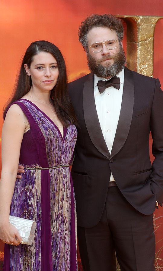 Canadian funnyman Seth brought his wife <strong>Lauren Miller</strong>, who he's been with since 2004. She looked incredible!
