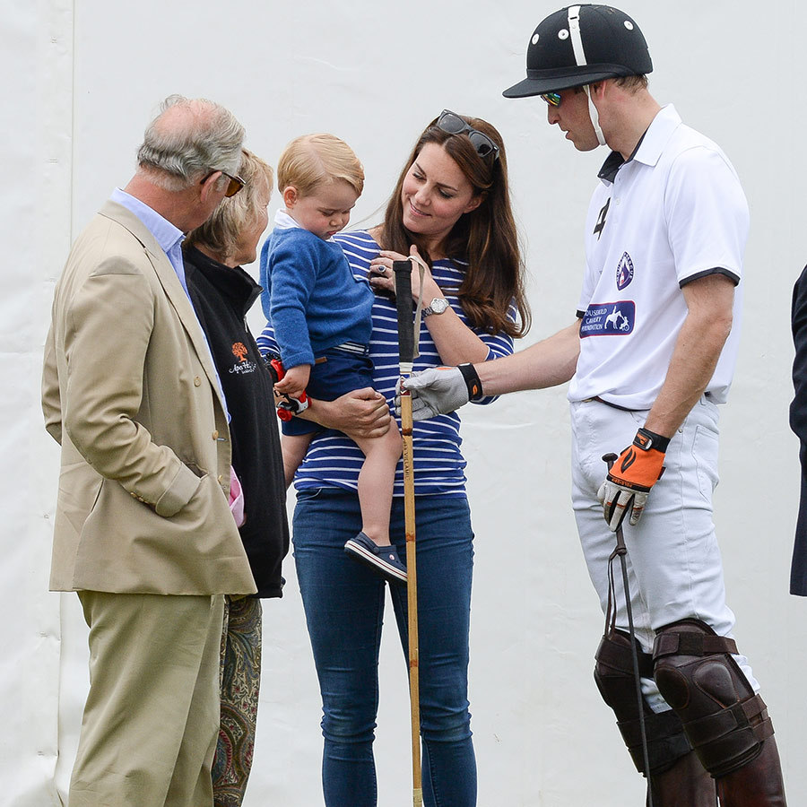 "Polo is one of <strong><a href=""/tags/0/prince-charles"">Prince Charles</a></strong> and <strong><a href=""/tags/0/prince-william"">Prince William</a></strong>'s favourite sports, but George seemed unimpressed by a polo mallet when William tried to introduce him to the sport at a charity match in July 2015. 