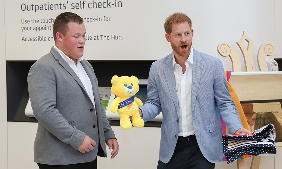 "Harry also got a little mini Theo of his own, probably for <strong><a href=""/tags/0/archie-harrison"">Archie</a></strong>!