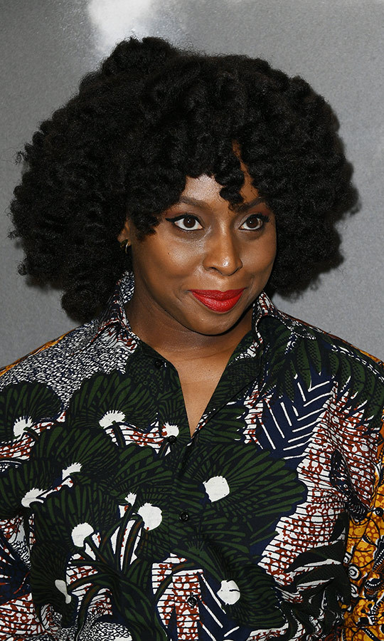 <h2>Chimamanda Ngozi Adichie</h2>