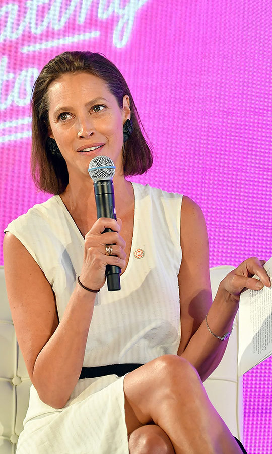 <h2>Christy Turlington Burns</h2>