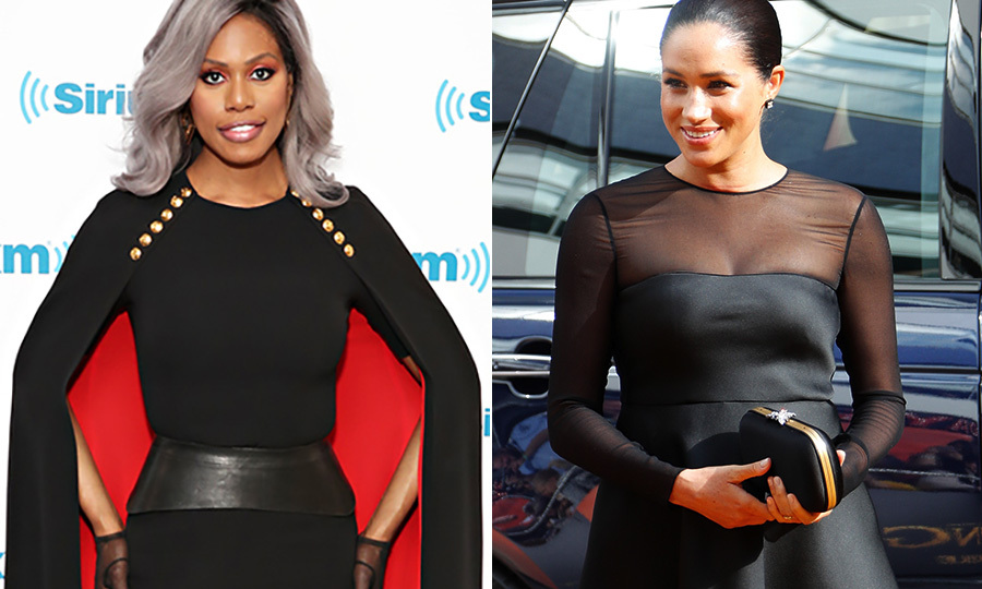 'She was so lovely': Laverne Cox gushes over working with Meghan Markle on British Vogue issue