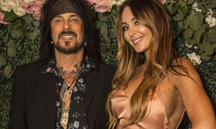 <h2>Nikki Sixx and Courtney Sixx</h2>