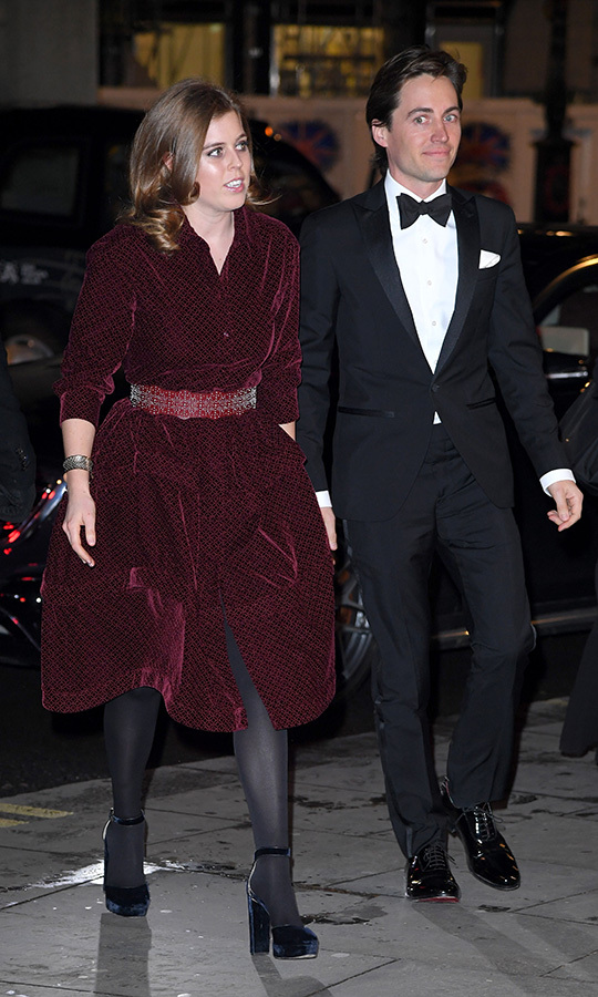 "In March, <strong><a href=""/tags/0/princess-beatrice"">Beatrice</a></strong> and <strong><a href=""/tags/0/edoardo-mapelli-mozzi"">Edoardo Mapelli Mozzi</a></strong> made their official public debut as a couple when they attended the National Portrait Gallery gala. 
