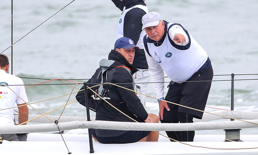 "<strong><a href=""/tags/0/prince-william"">William</a></strong> was keen to listen to advice about the direction of the wind from his shipmates.