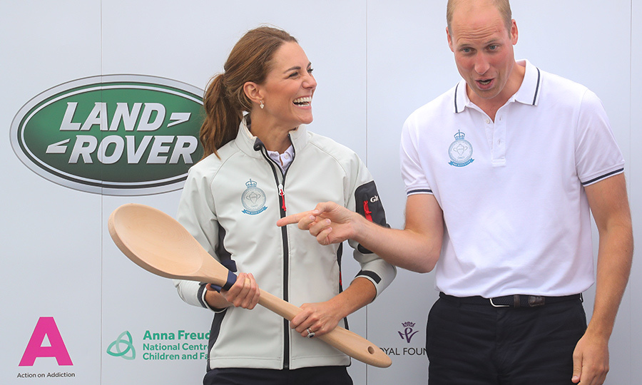 "To mark the occasion, <Strong><a href=""/tags/0/kate-middleton"">Kate</a></strong> was presented with a giant wooden spoon. The award is traditionally given to the last place finisher in numerous sports, including Major League Soccer, rowing, Australian rules rugby and soccer and most famously, the Rugby Union, though it has not been awarded there since 1909.