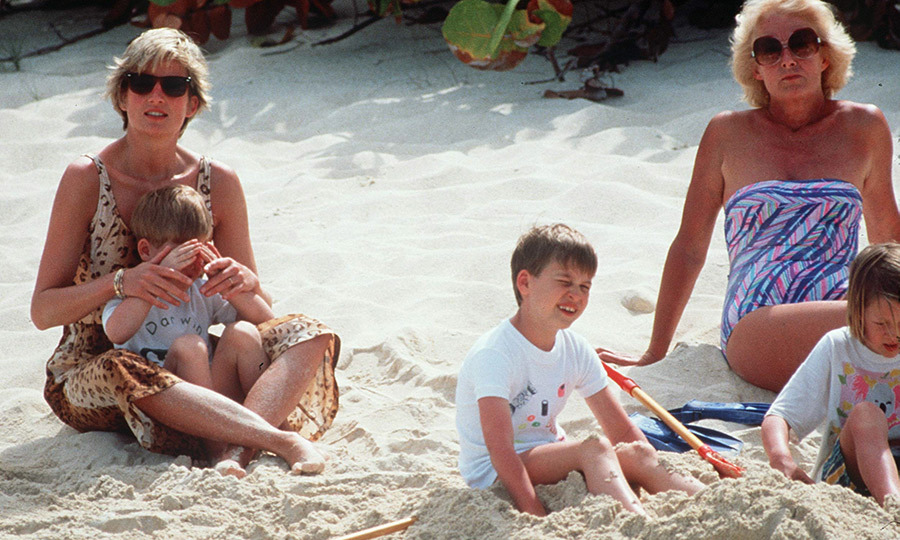 "<strong><a href=""/tags/0/princess-diana"">Princess Diana</a></strong> and her children also visited Necker Island with her mother, <strong>Frances Shand Kydd</strong> (pictured right), in 1990, along with Diana's sisters <strong><a href=""/tags/0/lady-jane-fellowes"">Lady Jane Fellowes</a></strong> and <strong><a href=""/tags/0/lady-sarah-mccorquodale"">Lady Sarah McCorquodale</strong></a> and their children. 