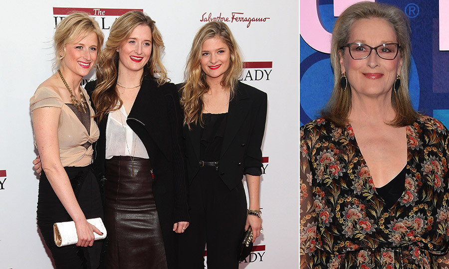 <h2>Meryl Streep and Mamie Gummer, Grace Gummer and Louisa Gummer</h2>