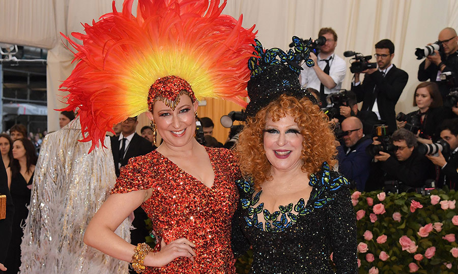 <h2>Bette Midler and Sophie Von Haselberg</h2>