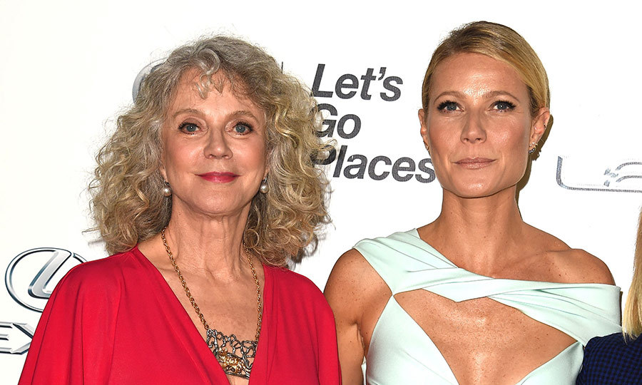 <h2>Blythe Danner and Gwyneth Paltrow</h2>