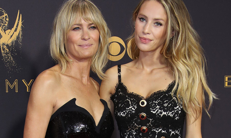 <h2>Robin Wright and Dylan Penn</h2>