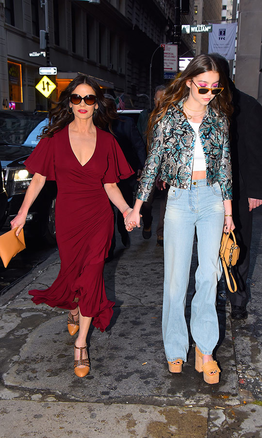 <h2>Catherine Zeta-Jones and Carys Zeta-Douglas</h2>
