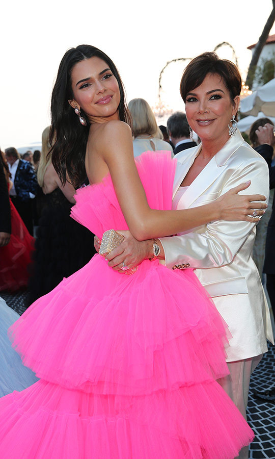 <h2>Kendall Jenner and Kris Jenner</h2>