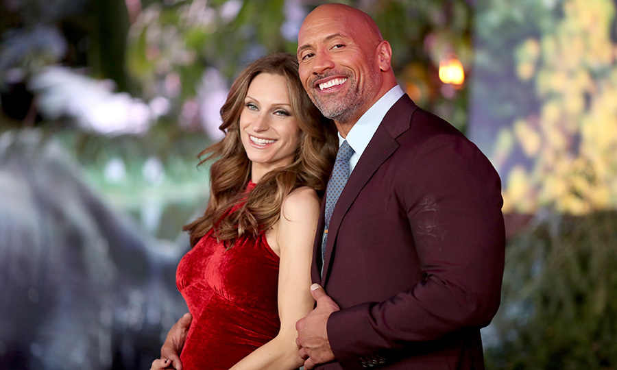 <h2>The Rock and Lauren Hashian</h2>