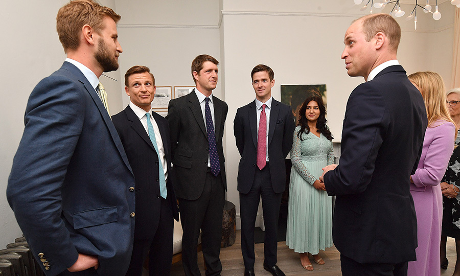 <h2>He's worked with Prince William</h2>
