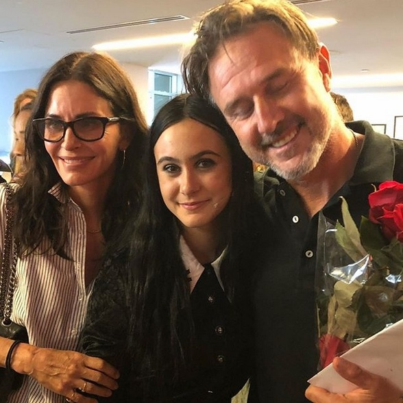 <h2>Courteney Cox and David Arquette</h2>