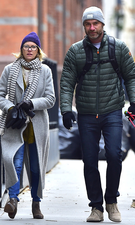 <h2>Naomi Watts and Liev Schreiber</h2>