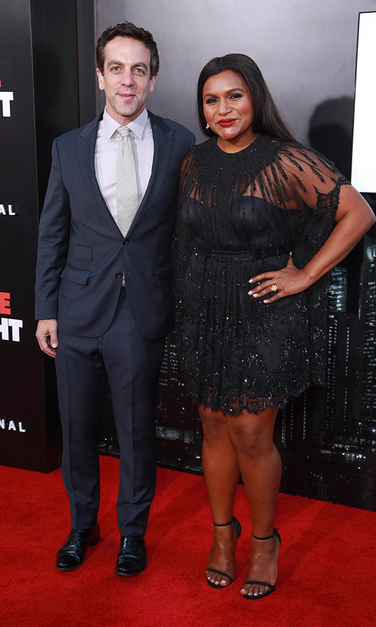 <h2>BJ Novak and Mindy Kaling</h2>