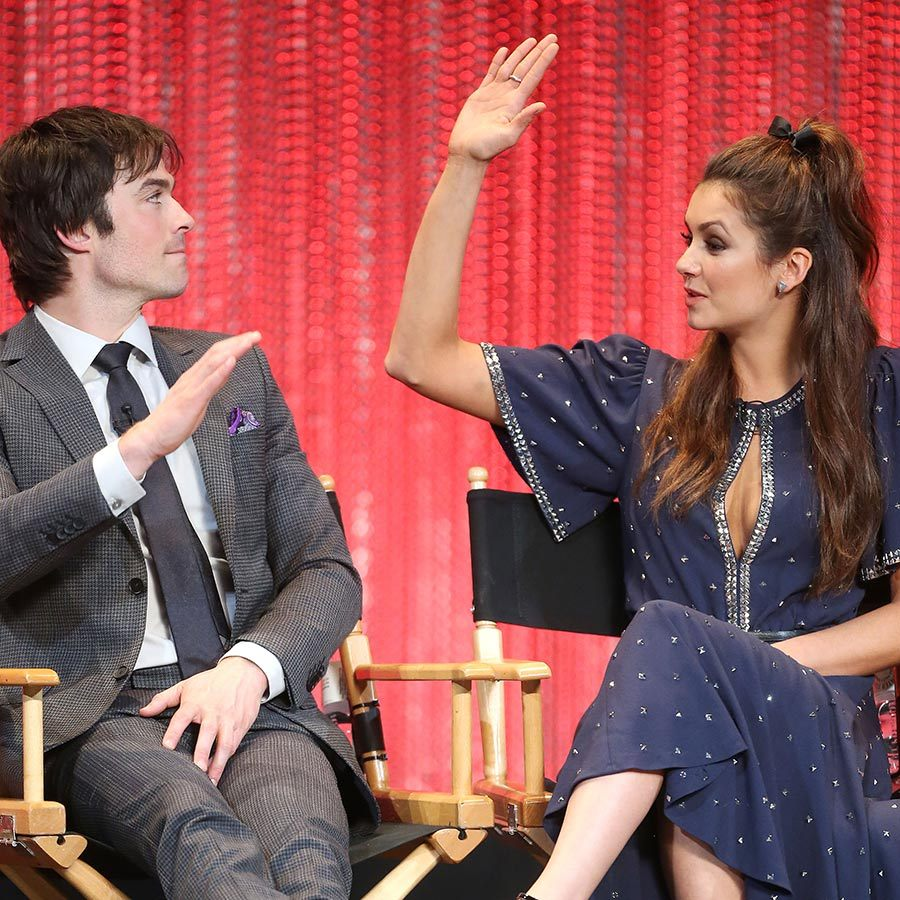<h2>Ian Somerhalder and Nina Dobrev</h2>