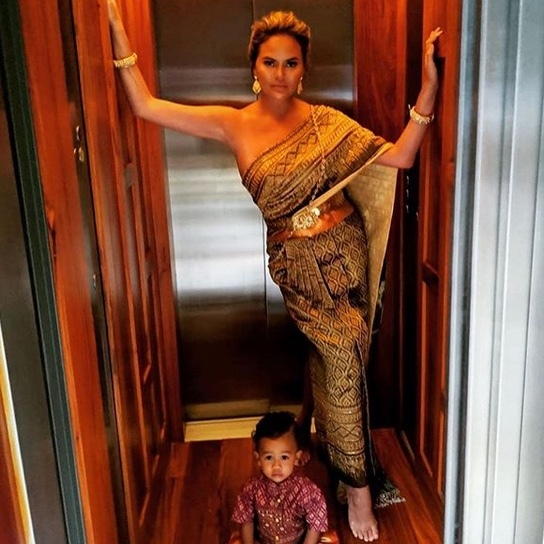 "<strong><a href=""/tags/0/chrissy-teigen"">Chrissy Teigen</a></strong> and <strong><a href=""/tags/0/john-legend"">John Legend</a></strong> took their family of four to Thailand in late August. 