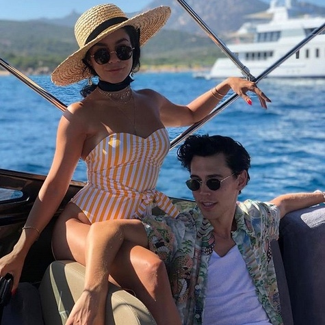 "<strong><a href=""/tags/0/vanessa-hudgens"">Vanessa Hudgens</a></strong> and her beau <strong>Austin Butler</strong> also took in Italy, enjoying much of Sardinia.