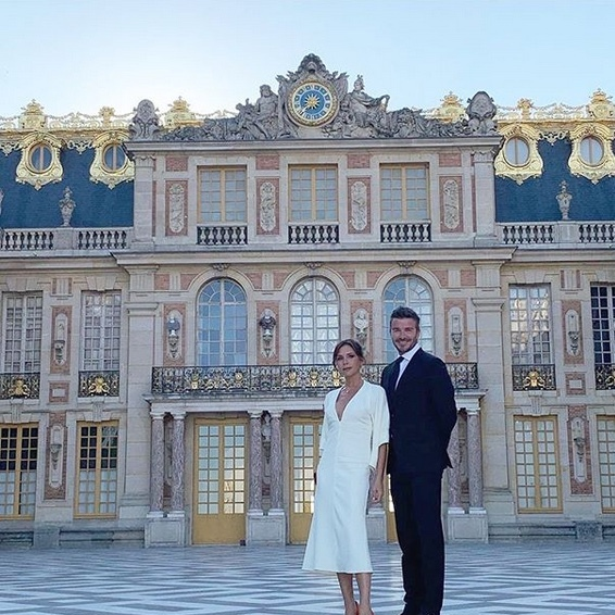 "<STRONG><a href=""/tags/0/victoria-beckham"">Victoria Beckham</a></strong> and <Strong><a href=""/tags/0/david-beckham"">David Beckham</a></strong> celebrated their 20th anniversary with a private tour of the Palace of Versailles in early July.