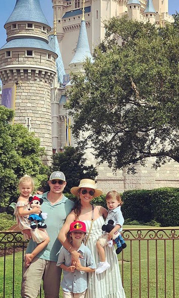 In late June, the Lacheys kicked off summer by bringing their kids to Disney World.