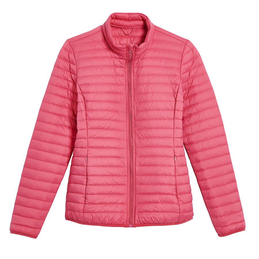 <strong><a href=https://www.joefresh.com/ca/Categories/Women/Women-s-Outerwear/PrimaLoft-Packable-Puffer-Jacket/p/F9WR000492_6880>PrimaLoft Packable Puffer Jacket in Rose</a></strong>, $69 