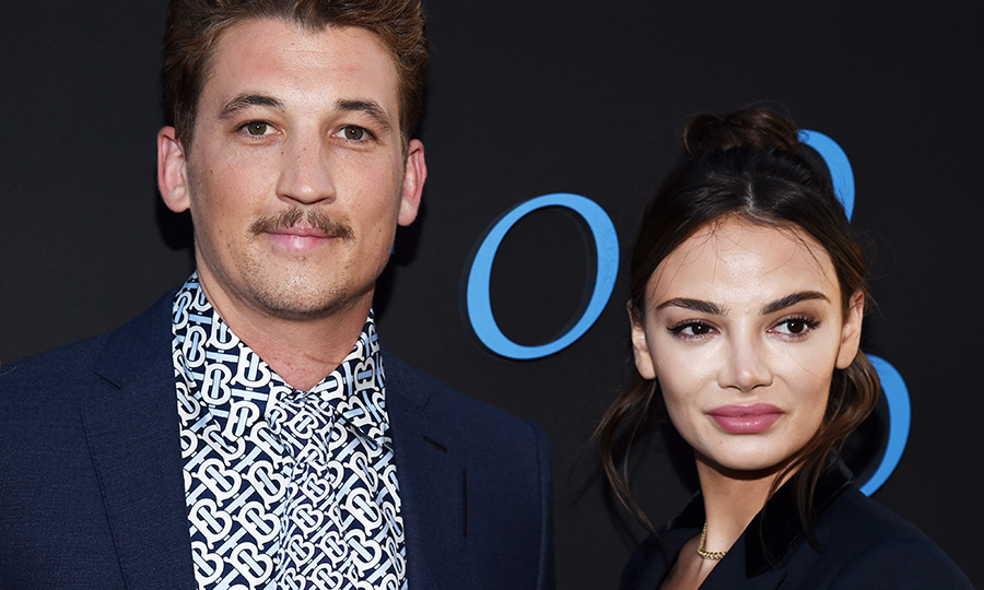 <h2>Miles Teller and Keleigh Sperry</h2>